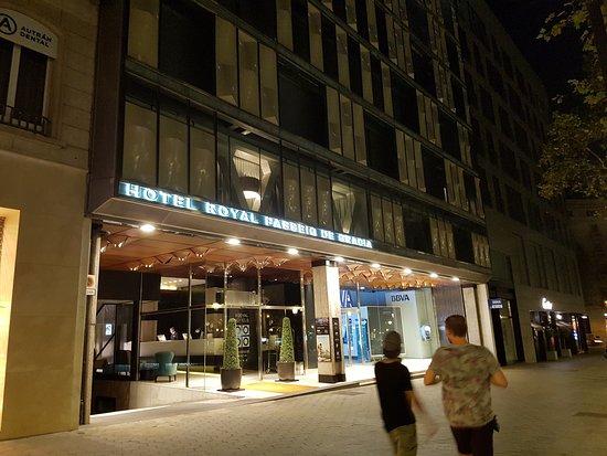 hotel royal passeig de gracia ingresso hotel
