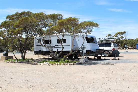 Eucla, Australien: Caravan Park