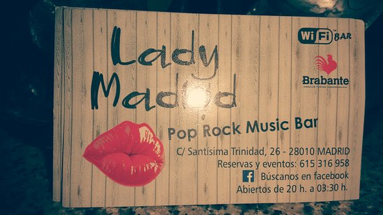 Lady Madrid