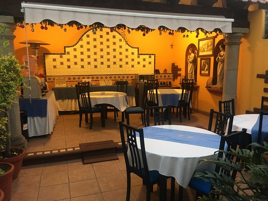 Casa de los Frailes: coffee in the morning