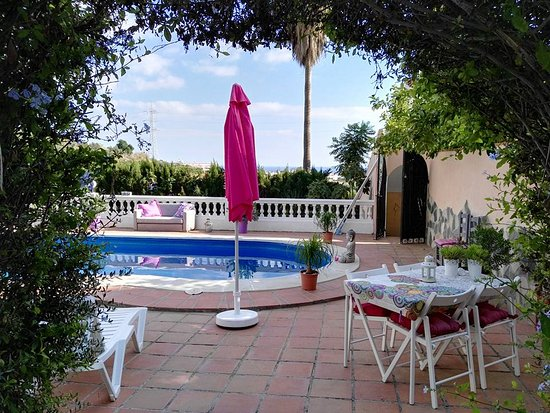Zwembad en terras picture of bed and breakfast andalusian summer