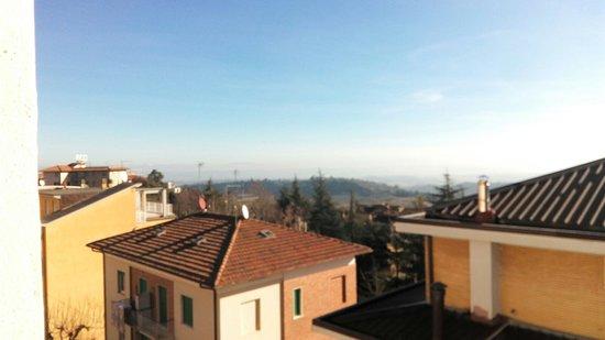 Hotel Perugina: Vista dalla nostra stanza.