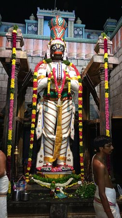 Namakkal, الهند: Lord Anjaneya