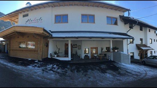 Hart im Zillertal, Österreich: Panorama Restaurant Appartements Almdiele