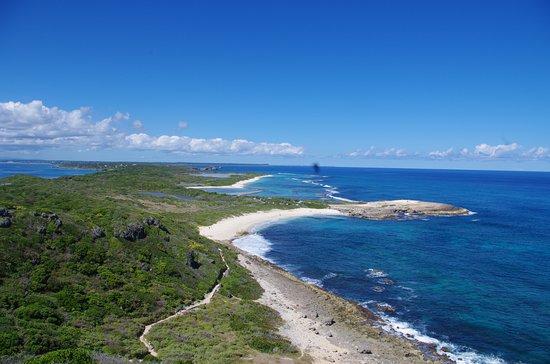 Pointe des Chateaux: Les plage
