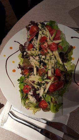 Hôtel Christiania : Salade composée