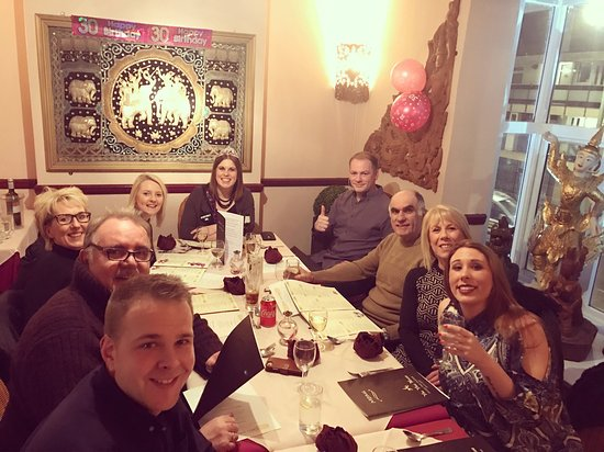 The Thai House : the perfect 30th birthday celebratory meal :)