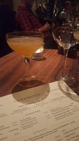 Hawksmoor Spitalfields: cocktail