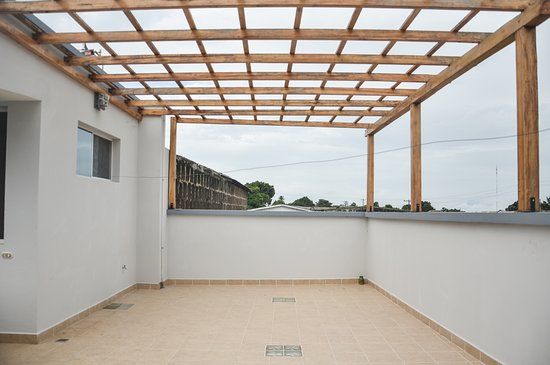 Jinotepe, Νικαράγουα: Una terraza al aire libre