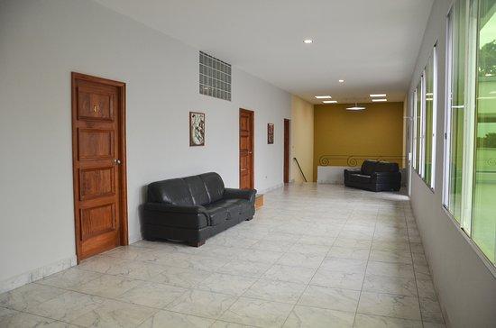 Jinotepe, Nicaragua: y un salón para uso exclusivo de nuestros huéspedes