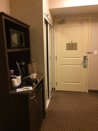 Hilton Garden Inn Toronto Airport West/Mississauga: King room ... comfortable and clean.  One of the better Garden Inns