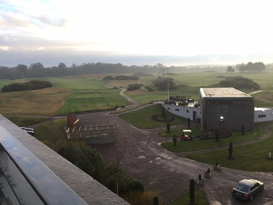 Castlemartyr, Ireland: Overlooking club house and golf course