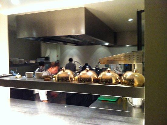 Graanmarkt 13: de open keuken