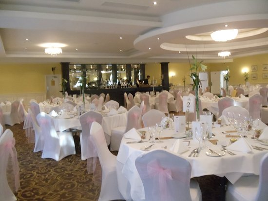 Kettles Country House Hotel: banquet rooom