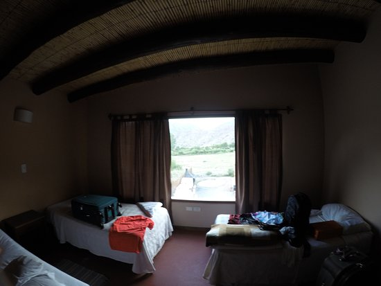 Mirador del Virrey, Cabanas Boutique: Vista do quarto, para as montanhas