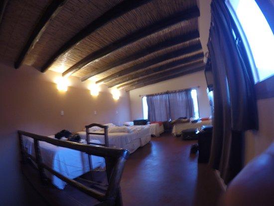 Mirador del Virrey, Cabanas Boutique: Vista do quarto