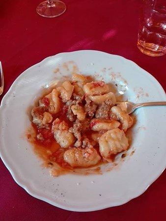 San Baronto, Italia: Gnocchi