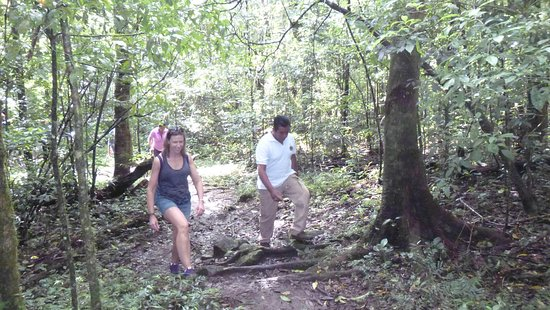 Granada, Nicaragua: Rain forest hike with Carlos - he is very knowledgeable of the local plant and animal life