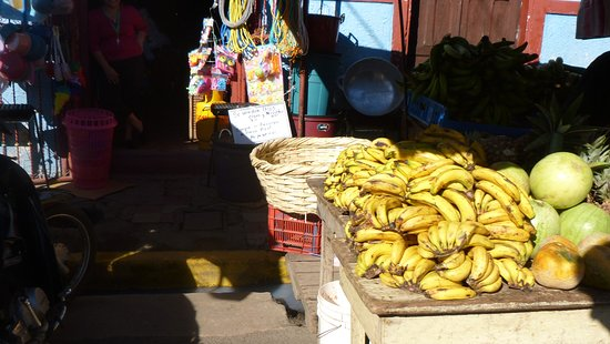 The local market in Granada is the best place to buy fresh fruits and vegetables