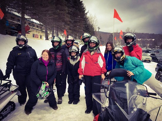 Dover, VT: The Irish crew hit the slopes