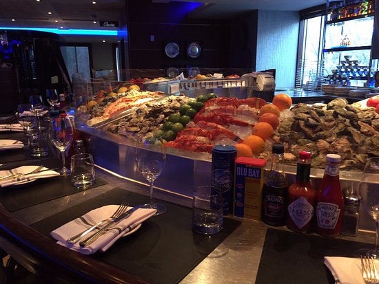 Oceanaire Seafood Bar - Picture of The Oceanaire Seafood Room, San ...