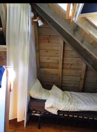 Azur, France: Les chambres /coins nuits du Fare.