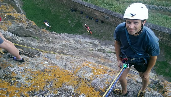 Riegersburg, Αυστρία: Kletterkurs am Burgfels