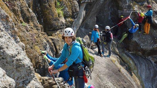 Klettersteig Riegersburg : Klettersteig leopold bild von naturbursch naturmädl