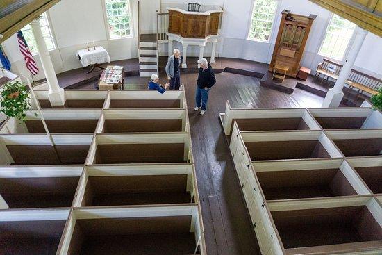 Richmond, VT: À l'intérieur de l'église -