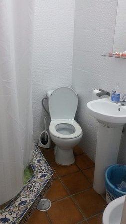 Pension Santa Maria la Blanca : micro bagno
