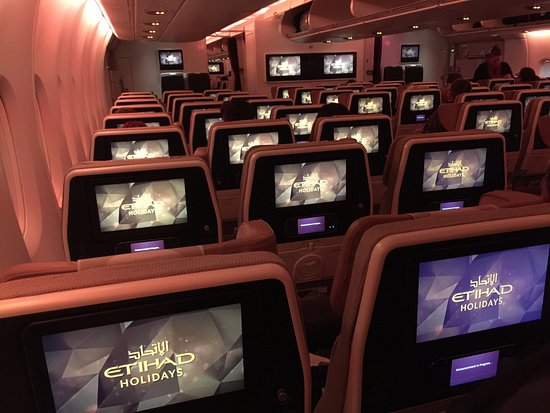 The Economy Cabin On The Airbus A380 Bild Von Etihad Airways