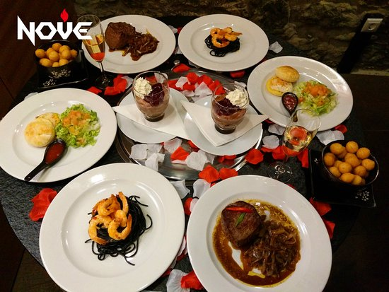 Romantic Dinner On Valentine S Day Picture Of Nove Korean Barbecue