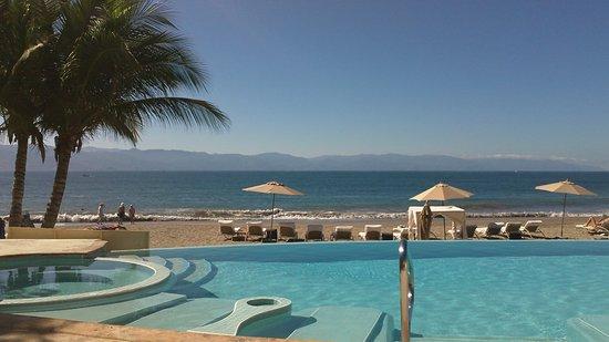 Casa Velas: Ocean club scenery. Ahhhh yes!