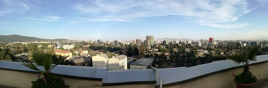 Hotel Intercontinental-Addis: View from the gym