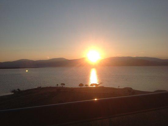 Venosa Beach Resort & Spa: View from room,sunrise.