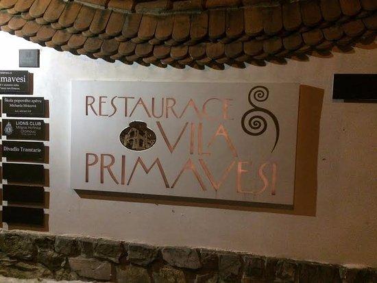 Vila Primavesi: Restaurace