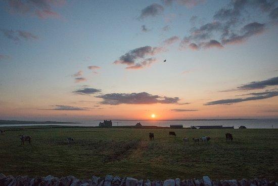 Westray, UK: Sunrise at Braehead Manse orkney