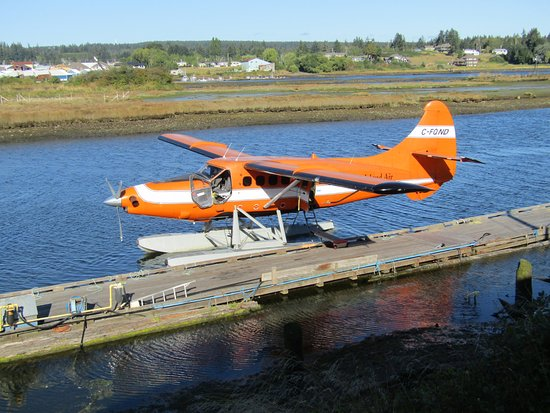 Glendale Cove, Канада: Float Plane used for flight to Knight Inlet