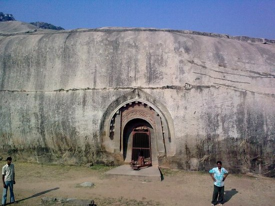 Gaya, Indien: The Barabar Caves are the oldest surviving rock-cut caves in India