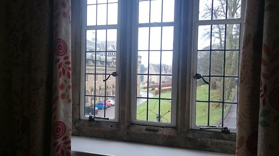 Ampleforth Abbey : View from my room for the evening to come - lovely!