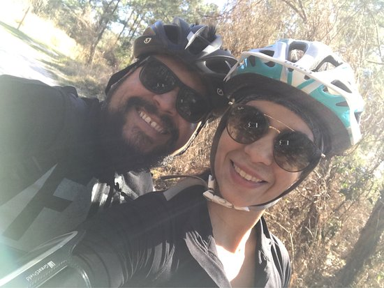 Cypress Grove Nature Park: We went to ride our bikes the trails are  really nice and well maintained a lot of people riding