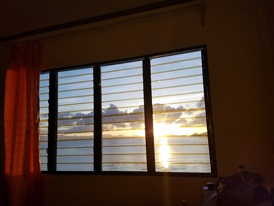 Culion, Filippinerne: Sunrise from Tangyad room