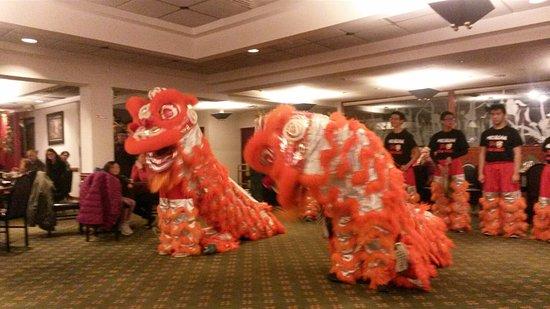 Golden Harvest Restaurant: Lion Dance for Lunar New Year