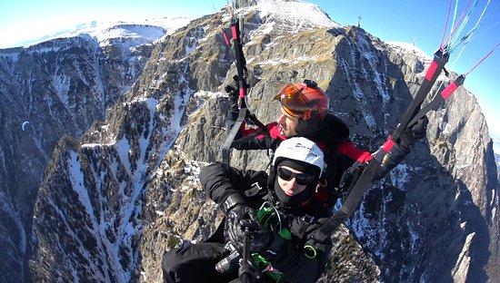 Sacele, Rumania: Paragliding flights in Transylvania