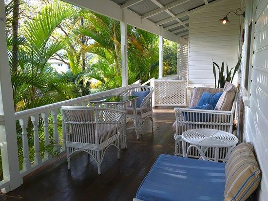 Arcadia House: The porch