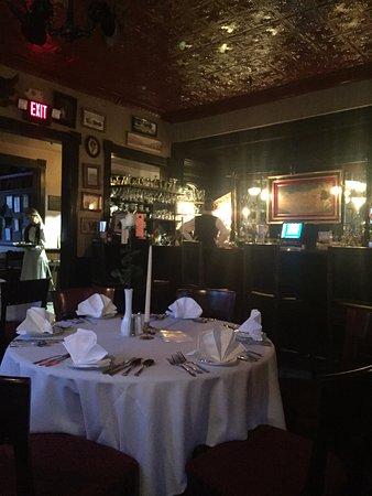 Holly Hotel restaurant near the bar
