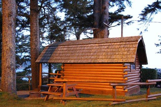 Lincoln City KOA Campground: KOA Camping Cabin