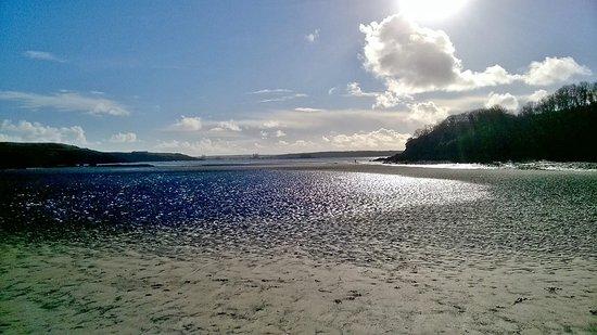Milford Haven, UK: Low tide