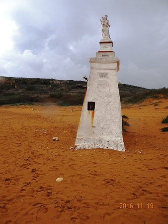 Xaghra, Μάλτα: Skulptur