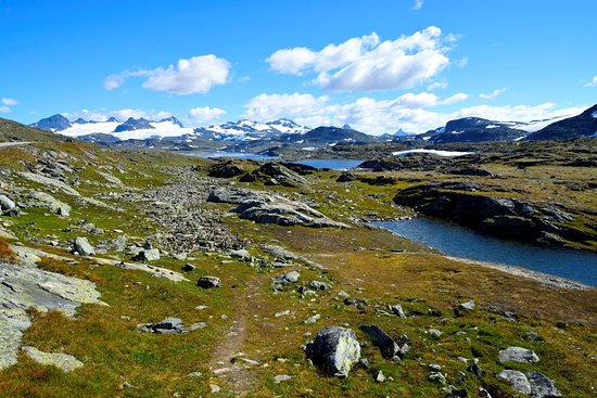 Lom, Norge: National Tourist Route Sognefjellet 03